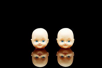 Heads of dolls - p5840549 by ballyscanlon