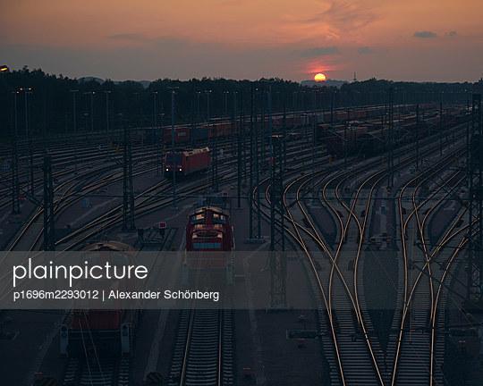 Goods train station - p1696m2293012 by Alexander Schönberg