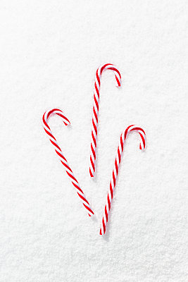 Candy canes - p454m2209973 by Lubitz + Dorner