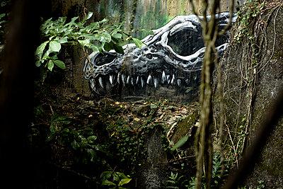 Gruseliges Graffiti - p1273m1492077 von melanka
