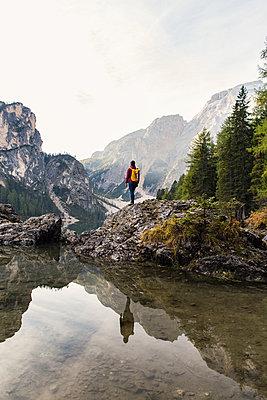 Am Pragser Wildsee, Südtirol - p1396m1502298 von Hartmann + Beese