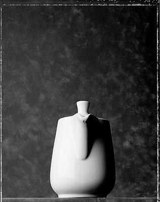 Weiße Kanne - p4470065 von Anja Lubitz