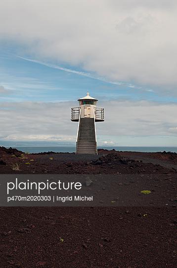 Leuchtturm auf Heimaey - p470m2020303 von Ingrid Michel