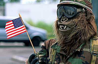 US soldier with mask - p2680991 by Rui Camilo