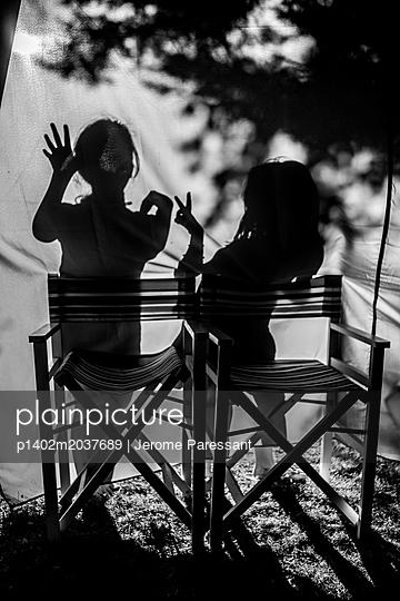 Schattenspiele - p1402m2037689 von Jerome Paressant