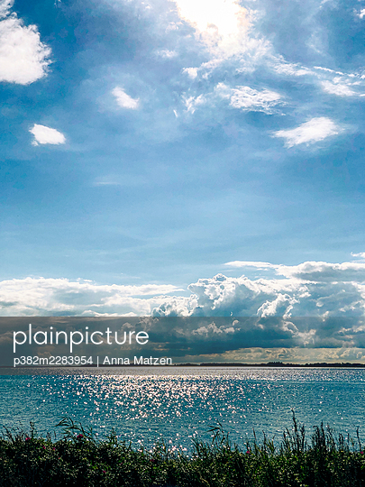 Sun on the Baltic Sea - p382m2283954 by Anna Matzen