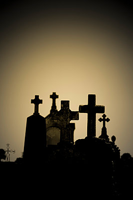 Grave crosses - p248m908266 by BY