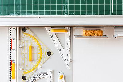 Tafel für den Matheunterricht - p834m885785 von Jakob Börner