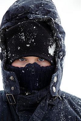 Warm covered face - p1790847 by Roland Schneider