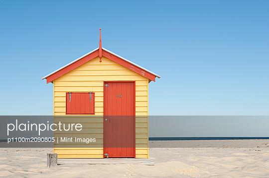 Beach Hut - p1100m2090805 by Mint Images