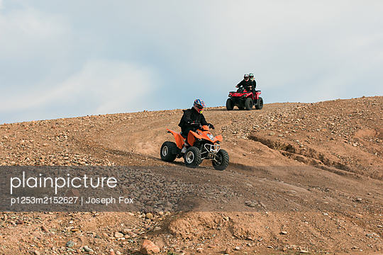 Marrakesh, Desert Quad-biking - p1253m2152627 by Joseph Fox