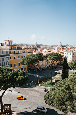View of the Old town of Rome - p1507m2158772 by Emma Grann