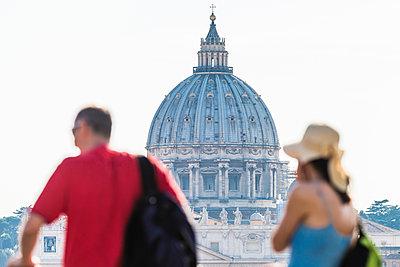Touristen - p488m1446026 von Bias