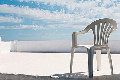 Dachterrasse auf Naxos - p7810101 von Angela Franke