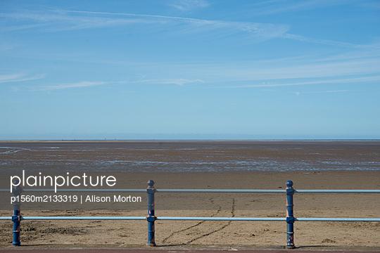 Lytham St Anne's Beach - p1560m2133319 von Alison Morton