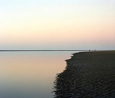 Stilles Wattenmeer im Sonnenuntergang - p3420316 von Thorsten Marquardt