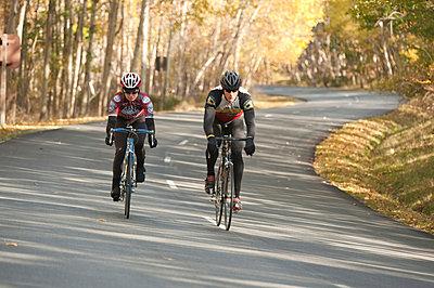 Bike Riders - p4343062f by Susan & Neil Silverman