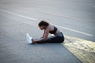 Female jogger - p1229m2115419 by noa-mar