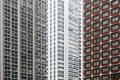 Siebziger Jahre Architektur in Grenelle - p719m2163829 von Rudi Sebastian