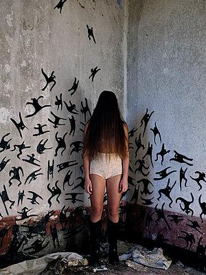 Alone - p1105m1093194 by Virginie Plauchut