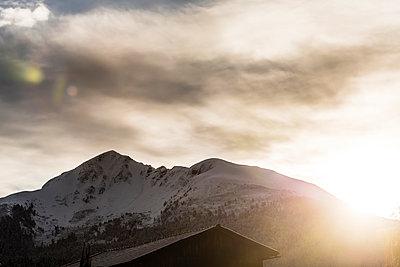 Sonnenaufgang, Südtirol - p488m1087593 von Bias