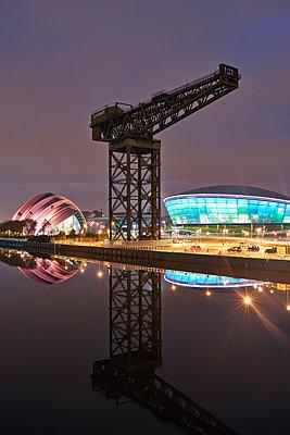 Kran, Clydeport, Glasgow - p587m1091797 von Spitta + Hellwig