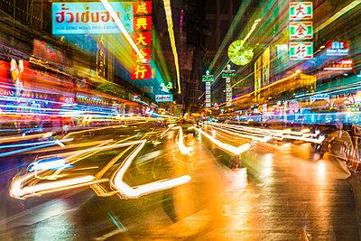 Bangkok at night, Bangkok, Thailand, Southeast Asia, Asia - p871m2022912 by Paul Porter