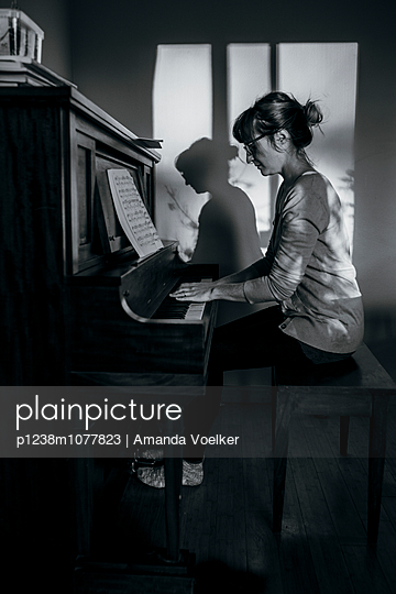 Classical music - p1238m1077823 by Amanda Voelker