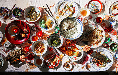 Chinese dinner - p1397m2054818 by David Prince