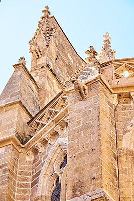 Santa Eulalia Church in Palma de Mallorca - p885m1424886 by Oliver Brenneisen