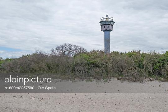 Germany, Mecklenburg-Vorpommern, Rügen, Sellin, Old watch tower - p1600m2257590 by Ole Spata