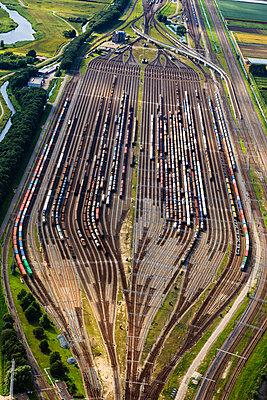 Eisenbahnstrecke Betuwe-Route - p1120m987380 von Siebe Swart