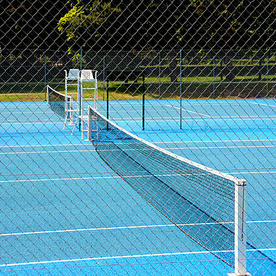 Tennis court - p813m808945 by B.Jaubert