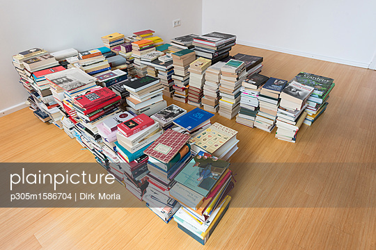 Stacks of books - p305m1586704 by Dirk Morla