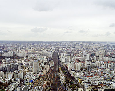 Blick über Paris - p1409m1466256 von margaret dearing