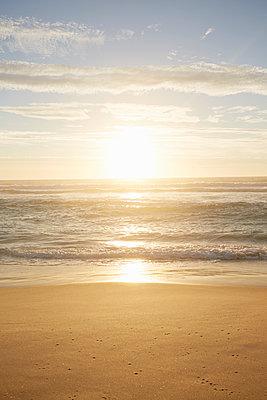 Sonnenuntergang am Meer - p464m1220831 von Elektrons 08