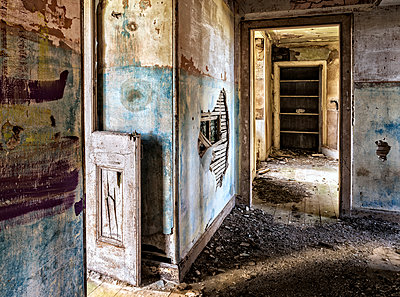 derelict Room - p1072m1163434 by Peter Paterson