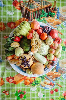 Obst- und Gemüsestilleben - p1319m1196328 von Christian A. Werner