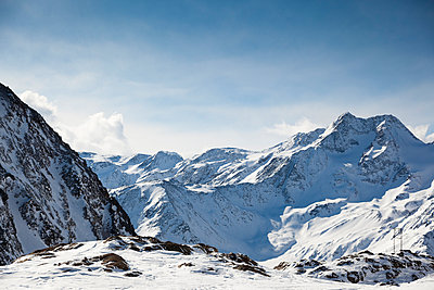 Italy, South Tyrol, Oetztal Alps, Schnals Valley - p300m981221f by Christina Falkenberg