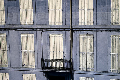 Closed windows in France - p4150534 by Tanja Luther