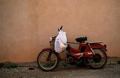 Altes Moped - p2680145 von M. Klippel