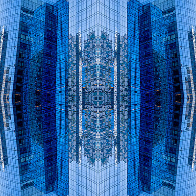 Abstract Architectural Kaleidoscope Boston - p401m2284142 by Frank Baquet