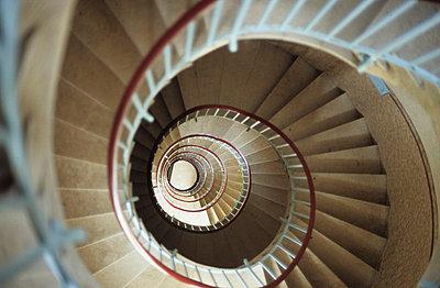 Treppe im Leuchtturm - p1160293 von Gianna Schade