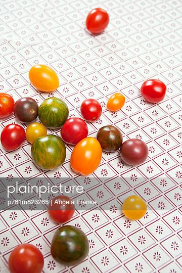 Kirschtomaten - p781m823285 von Angela Franke