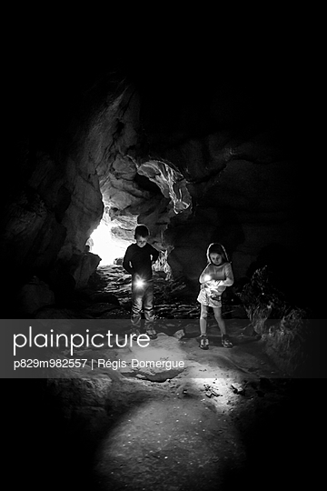 Höhlen-Abenteuer - p829m982557 von Régis Domergue