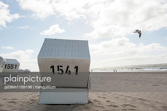 Strandkörbe  - p236m1159198 von tranquillium