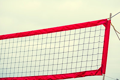 Volleyball net - p1436m1588842 by Joseph S. Giacalone