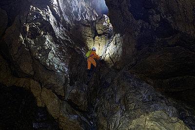 Ellipsengang im Hölloch - p1203m1201727 von Bernd Schumacher
