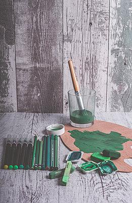 Grün - p1512m2108670 von Katrin Frohns