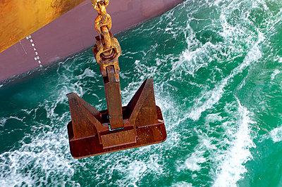 Casting the anchor - p1099m857163 by Sabine Vielmo